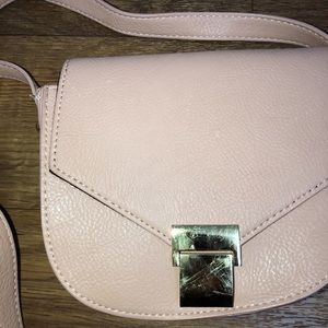 Forever 21 Bags - nude pink crossbody purse